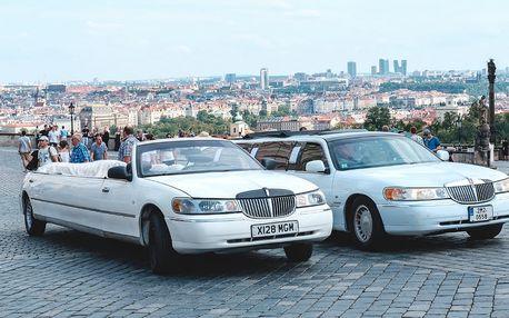 Stylová jízda limuzínou cabrio až pro 8 osob