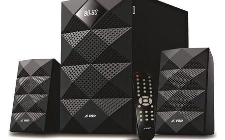 Reproduktory Fenda F&D A180X 2.1, bluetooth, USB, SD, FM (A180X) černé