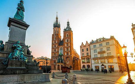 Výlet do polského solného dolu Wieliczka a do města Krakov