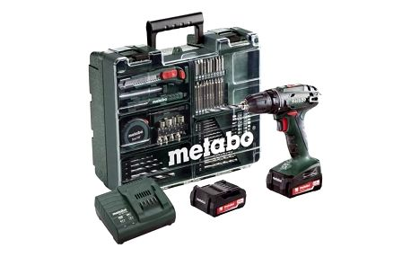 Aku vrtačka Metabo BS14.4Set MD 602206880 zelená + Doprava zdarma