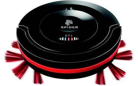 Vysavač robotický Dirt Devil Spider Robot M607 černý + Doprava zdarma
