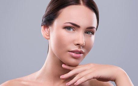 30minutové galvanické ošetření obličeje a krku