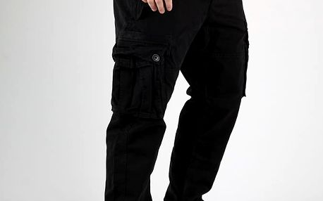 Kalhoty Superdry CORE HEAVY CARGO PANT Černá