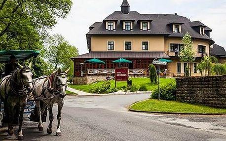 Exkluzivní romantický pobyt pro dva na 3 dny v luxusním Golf hotelu Morris, polopenze, wellness.