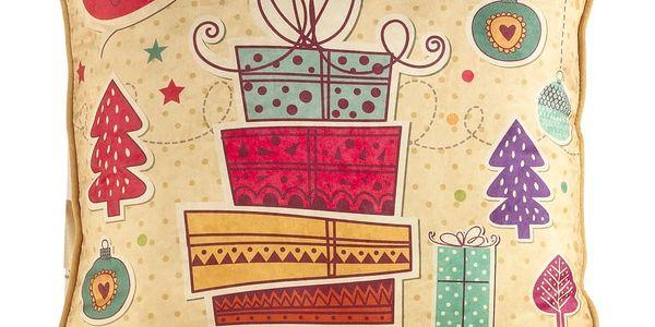 Vánoční povlak na polštář Apolena Comfort, 43x43cm