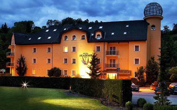 Romantika na Olomoucku s polopenzí i wellness