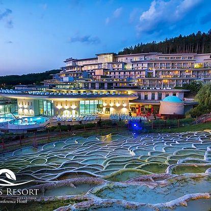 Maďarský Egerszalók ve znamení luxusního relaxu: 4* hotel Saliris Resort s neomezeným vstupem do termálních lázní i polopenzí