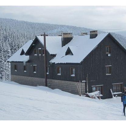 Last minute pobyt v lednu na chatě Malá Rennerovka pro dvě osoby a dítě