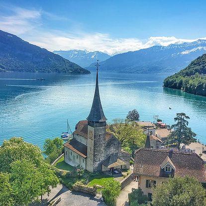 Výlet do Švýcarska: město Thun, hrad Oberhofen a městečko Spiez