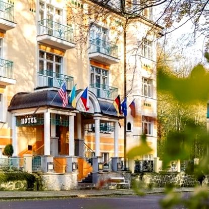 3denní luxusní wellness pobyt ve Villa Savoy Spa Park Hotelu**** v Mariánkách