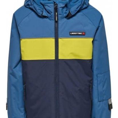 Chlapecká lyžařská bunda LEGO® Wear JAZZ 776 Modrá 122