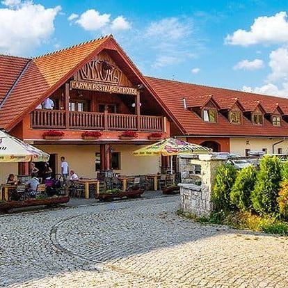 3denní pobyt pro 2 s polopenzí v hotelu Farma Vysoká*** v podhůří Jizerských hor