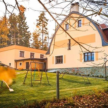 Krušné hory pobyt pro 2 osoby s polopenzí, 50 % slevou na saunu, kryoterapii aj.