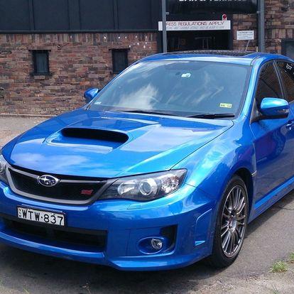 Super jízda v Subaru Impreza WRX STI vč. paliva