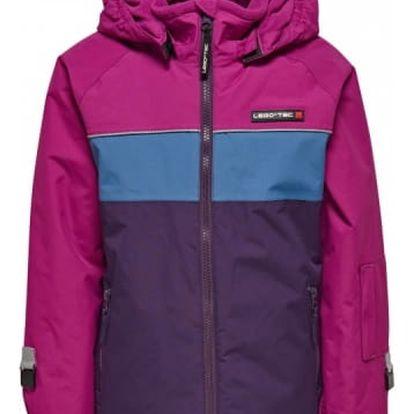 Dívčí lyžařská bunda LEGO® Wear JENNY 775 Fialová 146
