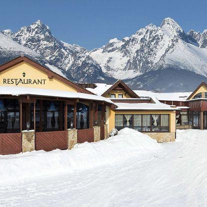 Zimní dovolená pod Tatrami v hotelu Amalia *** +