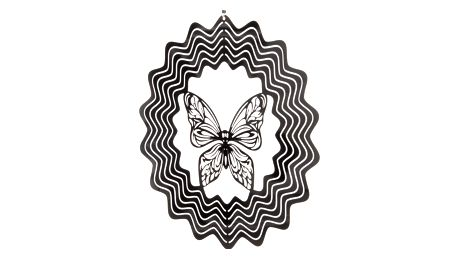Závěsná dekorace Cosmo Spinner motýl