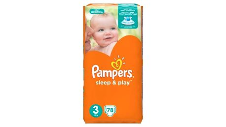 Plenky Pampers Sleep&Play 3 MIDI, 78ks