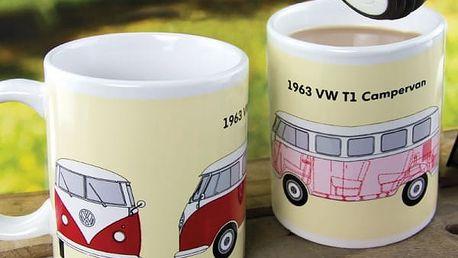 Hrnek reagující na teplo Volkswagen Campervan