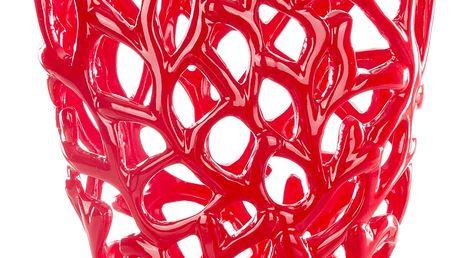 Designová váza s motivem vloček