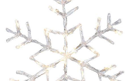 Svítící hvězda Best Season Snowflake Silvino, Ø 40 cm