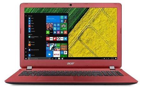 Notebook Acer Aspire ES15 (ES1-523-4733) (NX.GL0EC.002) černý/červený + Doprava zdarma