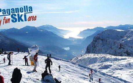 Hotely Paganella - různé hotely - 5denní lyžařský balíček se skipasem a dopravou v ceně, Paganella, Itálie, autobusem, polopenze