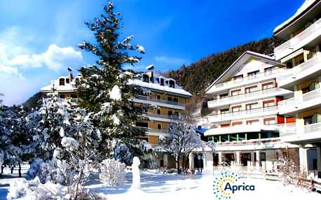 5denní Aprica se skipasem | Hotel Urri*** | Doprava, ubytování, polopenze a skipas v ceně