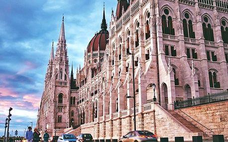 Pikantně atraktivní Budapešť v hotelu jen kousek od centra a největšího městského parku se snídaní