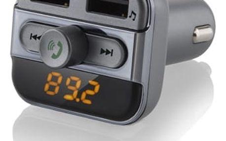 Transmitter Hyundai FMT 520 BT CHARGE šedý