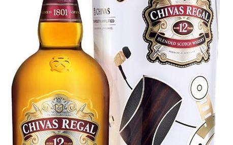 Chivas Regal Whisky 12YO 0,7l 40% Plech