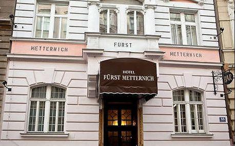 4 dny pro dva ve Vídni. 3* hotel v historické budově. Dítě do 12 let zdarma