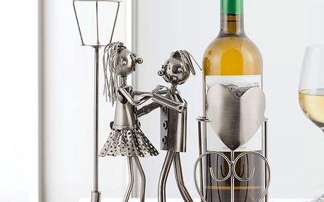 Kovový Stojan na Víno Milenci