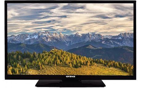 """Orava LED LCD 32""""uhl.81cm, DVB-T2 LT-840 M92B"""