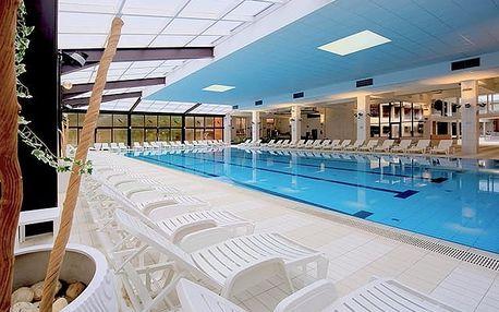 Hotel Terme Jezerčica, Pobyt s polopenzí a neomezeným vstupem do termálních bazénů