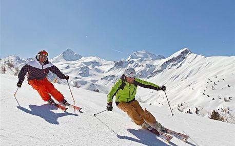 Hotely Bormio - různé hotely - 5denní lyžařský balíček se skipasem a dopravou v ceně, Alta Valtellina, Itálie, autobusem, polopenze