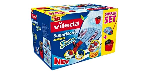 Vileda SuperMocio Completo 3 Action BOX 1374133