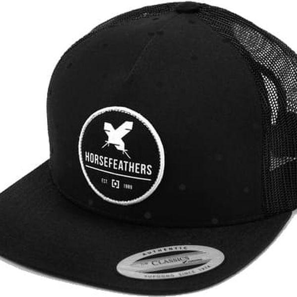 Kšiltovka Horsefeathers Bea all black univerzální velikost