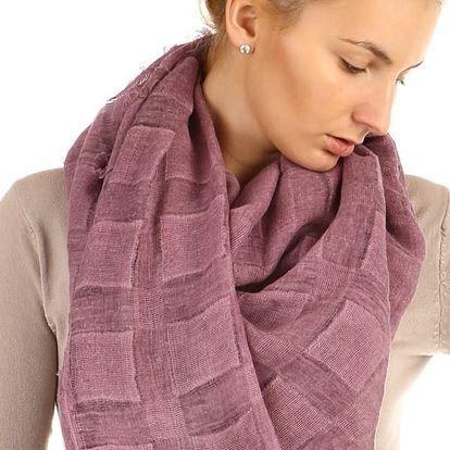 Čtvercový šátek fialová