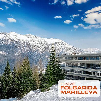 5denní Marilleva / Folgarida se skipasem | Hotel Sole Alto*** | Doprava, ubytování, polopenze a skipas v ceně
