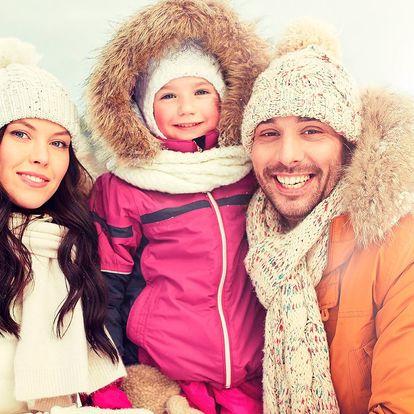 Zimní rodinná dovolená ve Špindlu s polopenzí