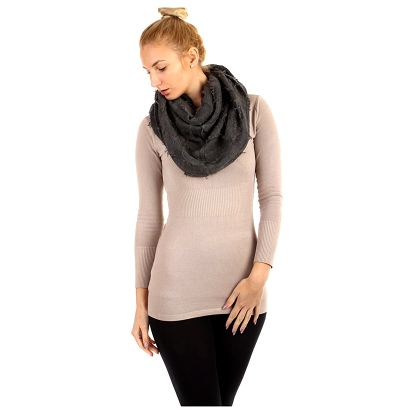 Čtvercový šátek tmavě šedá