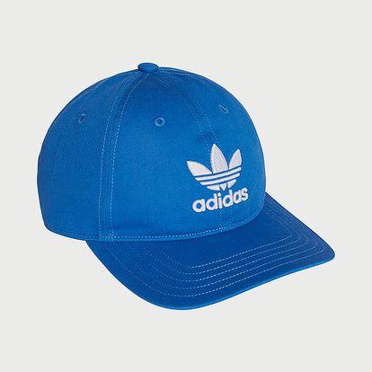 Kšiltovka adidas Originals Trefoil Cap Modrá