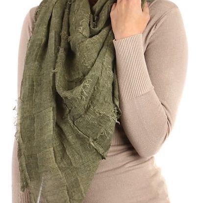 Čtvercový šátek zelená