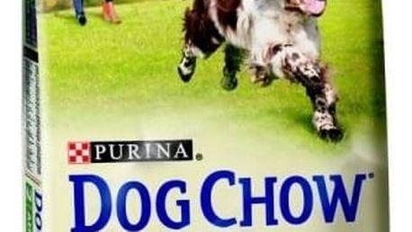 Granule Purina Dog Chow Adult jehněčí 11 + 3 kg