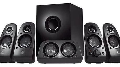 Reproduktory Logitech Z506 5.1 (980-000431) černá