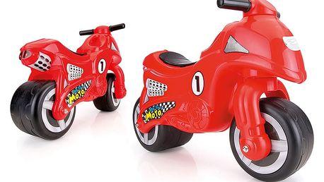 DOLU Odrážedlo motorka, červená