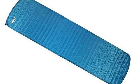 Karimatka samonafukovací Yate Guide 183x51x3,8 cm - modrá/šedá