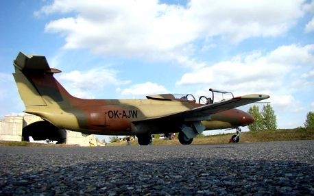 Let stíhačkou L-29 Delfín Brno - Luxusní dárkové balení