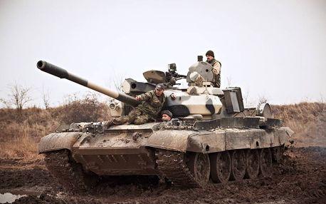 Řízení bojového tanku - Luxusní dárkové balení